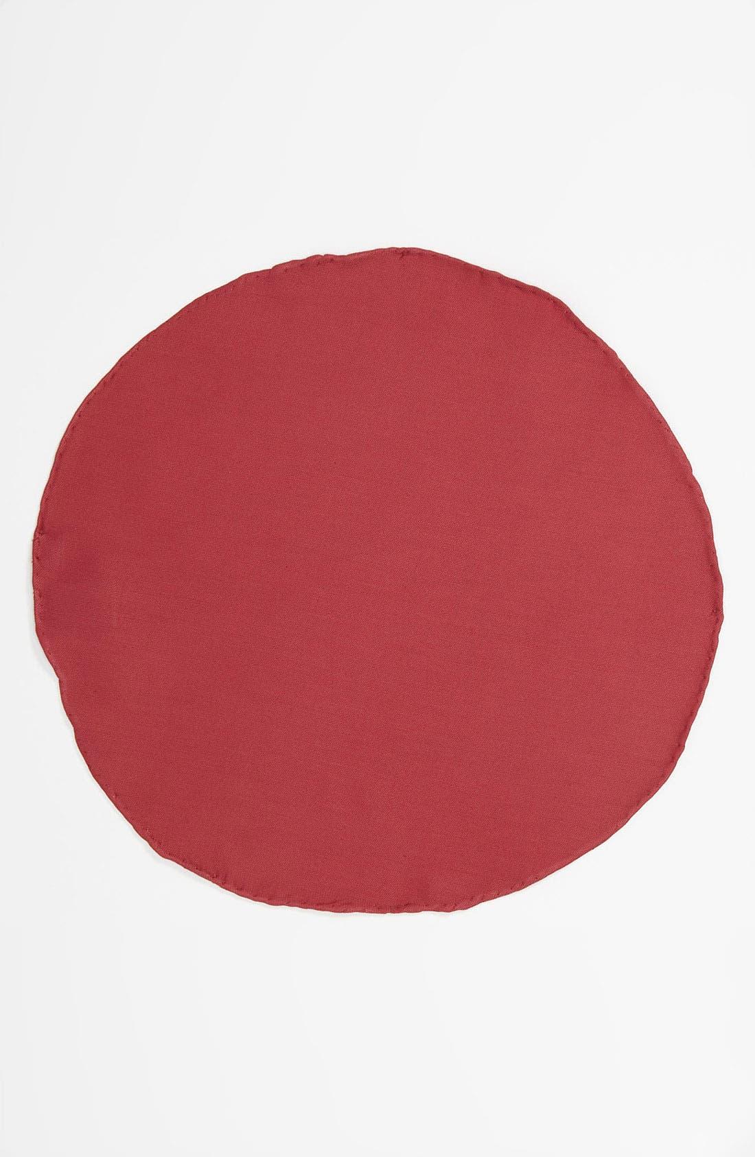 Alternate Image 2  - BOSS Black Circular Pocket Square
