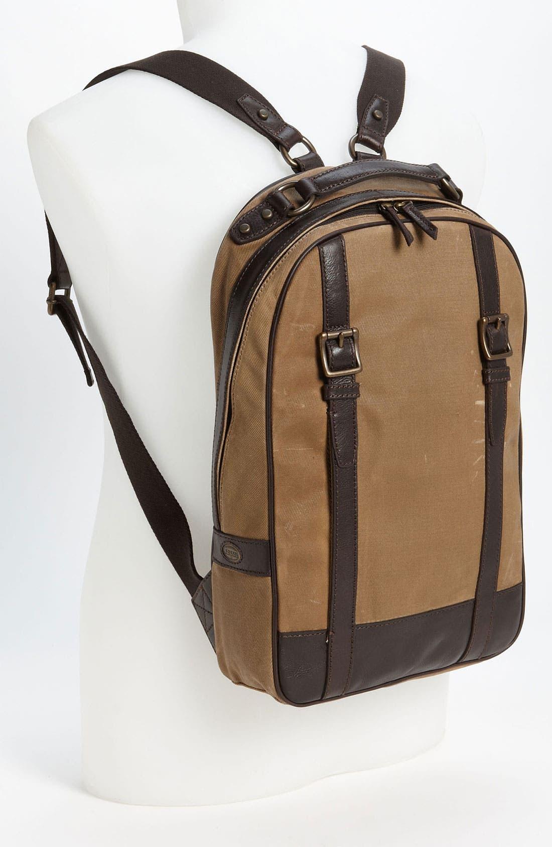 Alternate Image 4  - Fossil 'Estate' Backpack