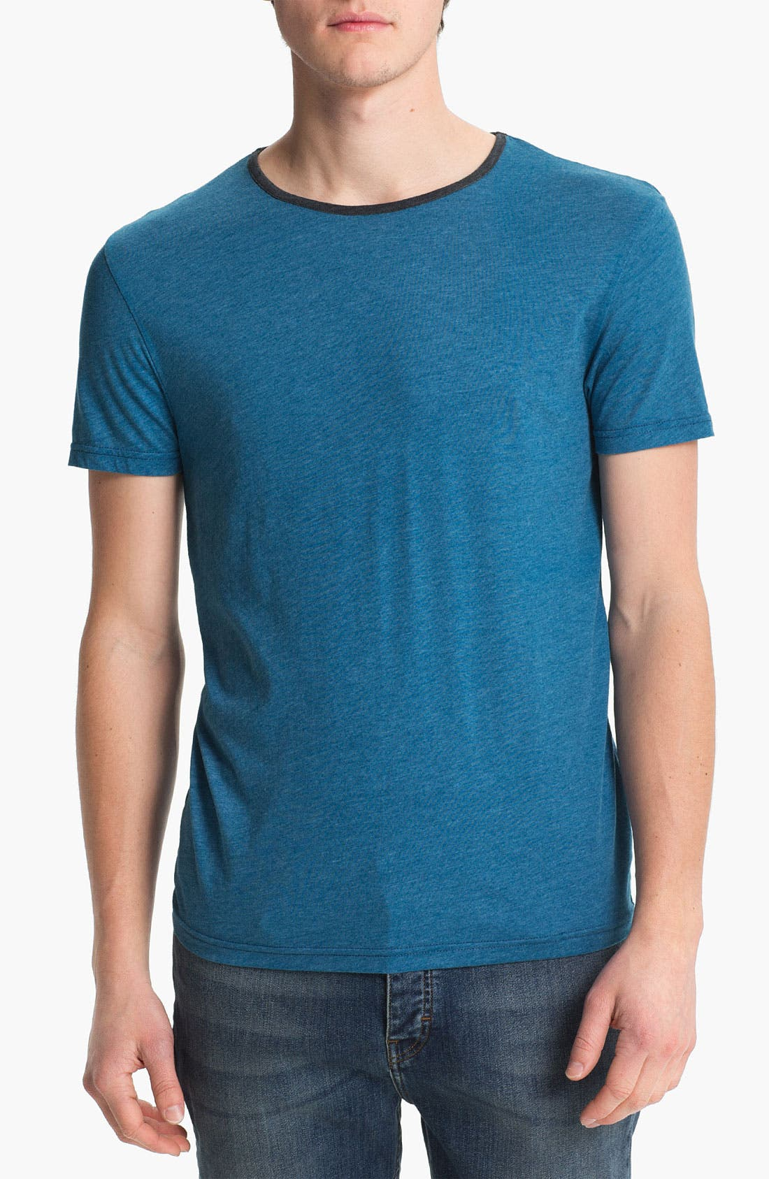 Alternate Image 1 Selected - Topman Marled T-Shirt