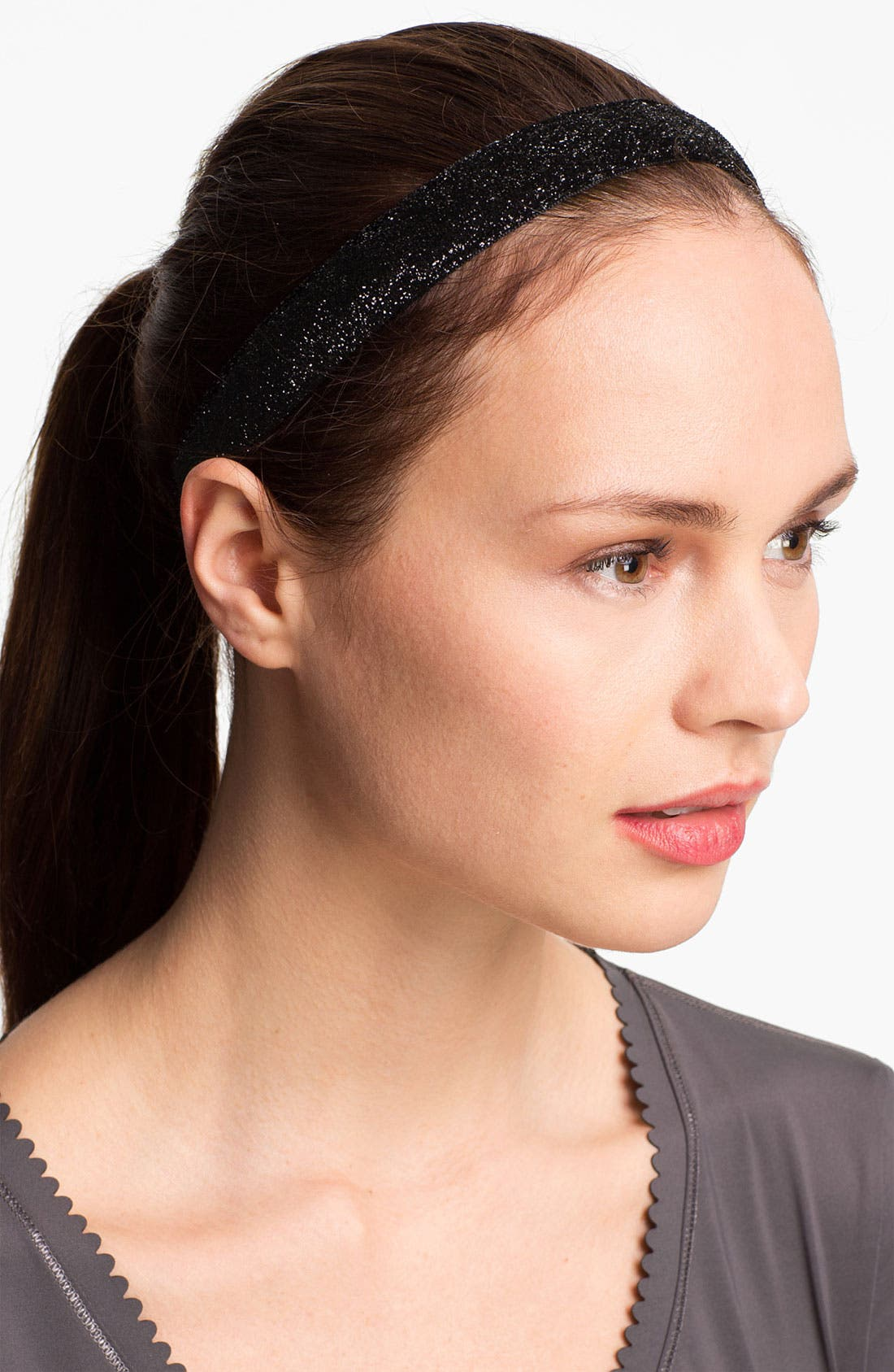 'Viva Diva' Head Wrap,                         Main,                         color, Black