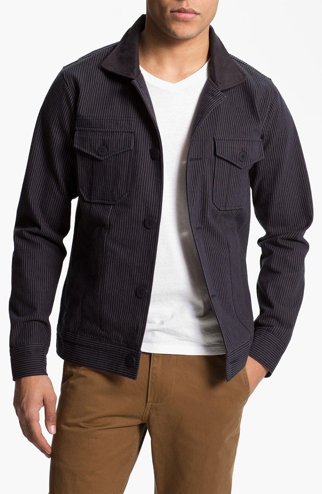 Alternate Image 1 Selected - Kane & Unke Stripe Jacket