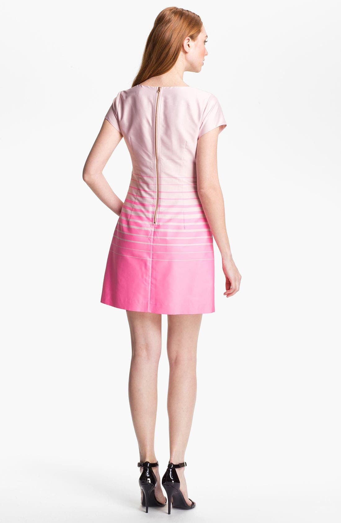 Alternate Image 2  - Ted Baker London Stripe A-Line Dress (Online Only)