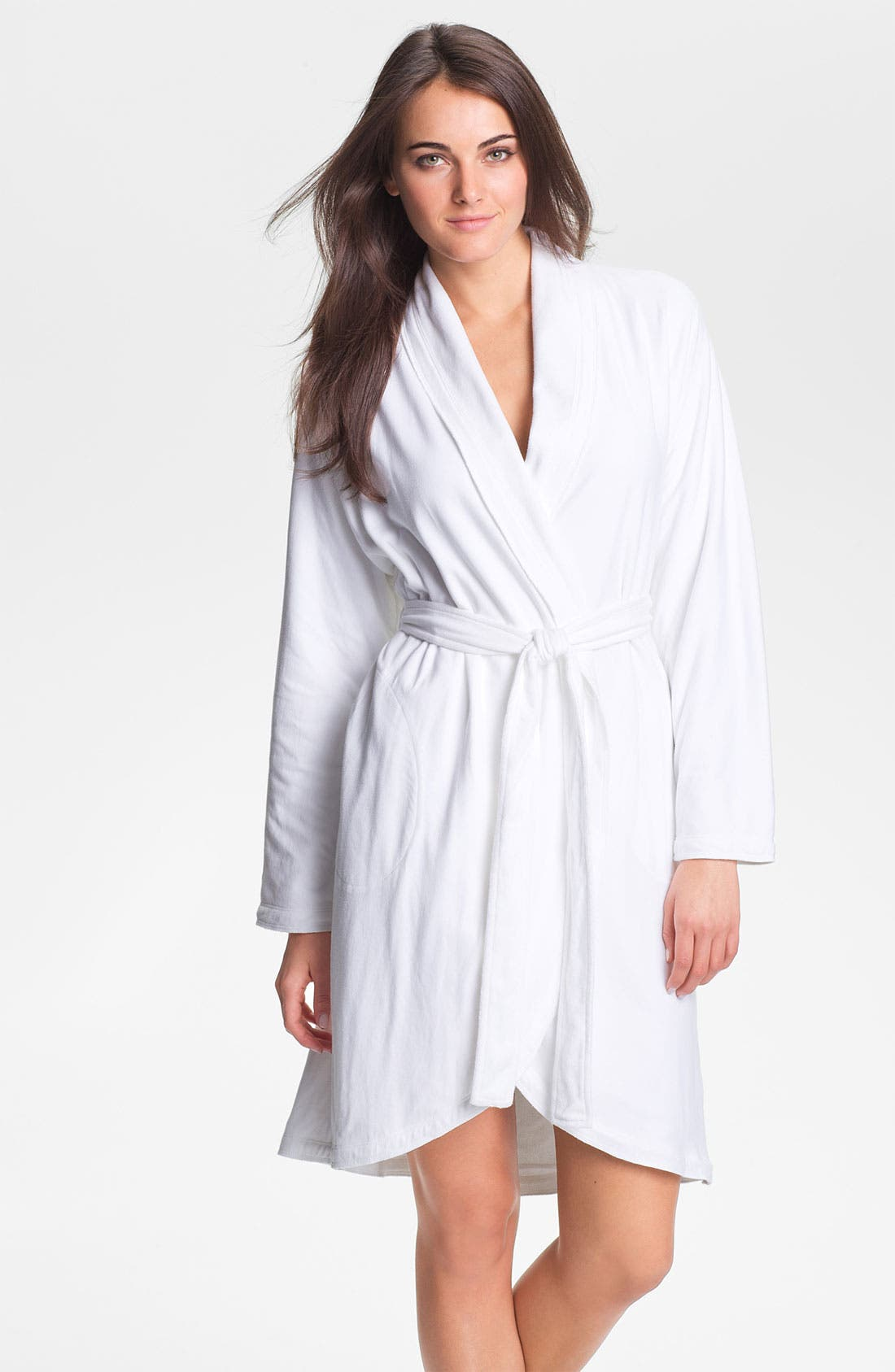 Alternate Image 1 Selected - Donna Karan 'Casual Luxe' Robe