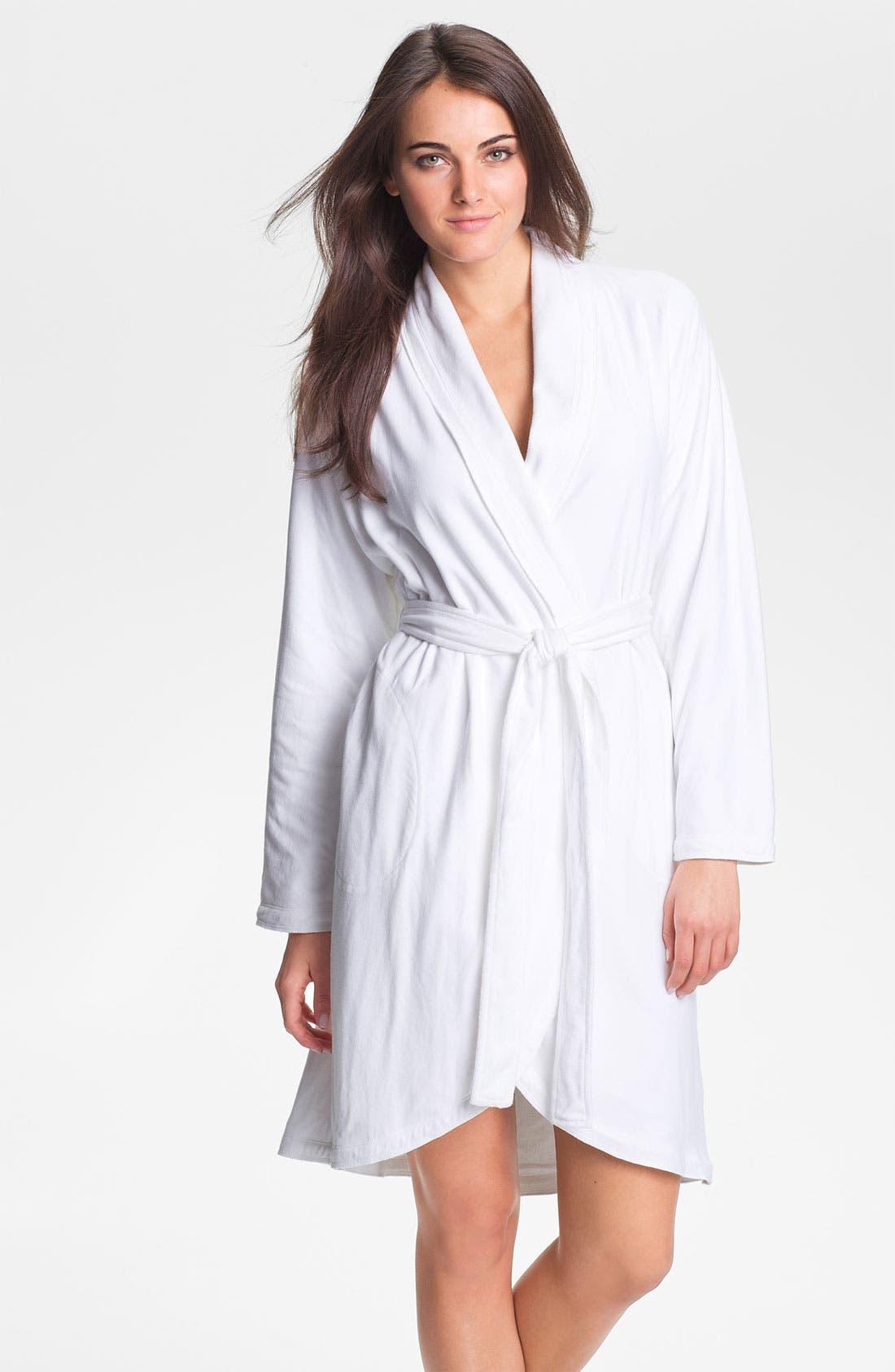 Main Image - Donna Karan 'Casual Luxe' Robe