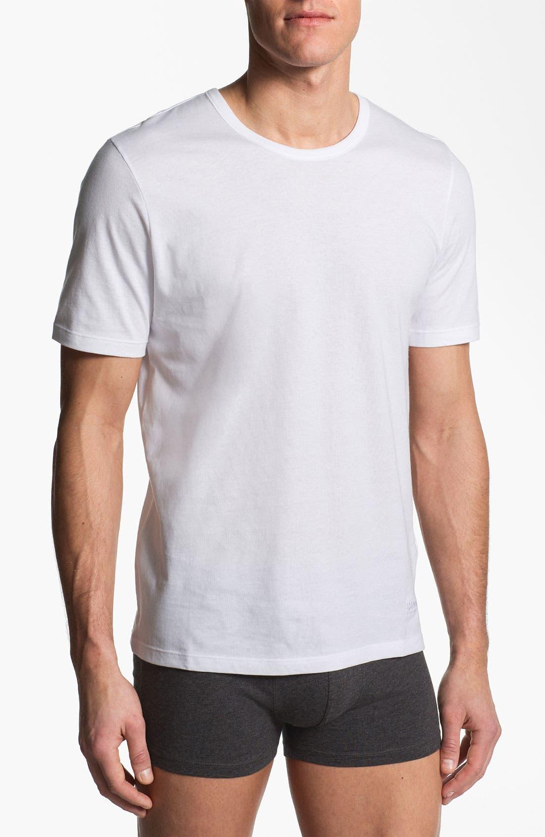 Main Image - BOSS 3-Pack Crewneck T-Shirt