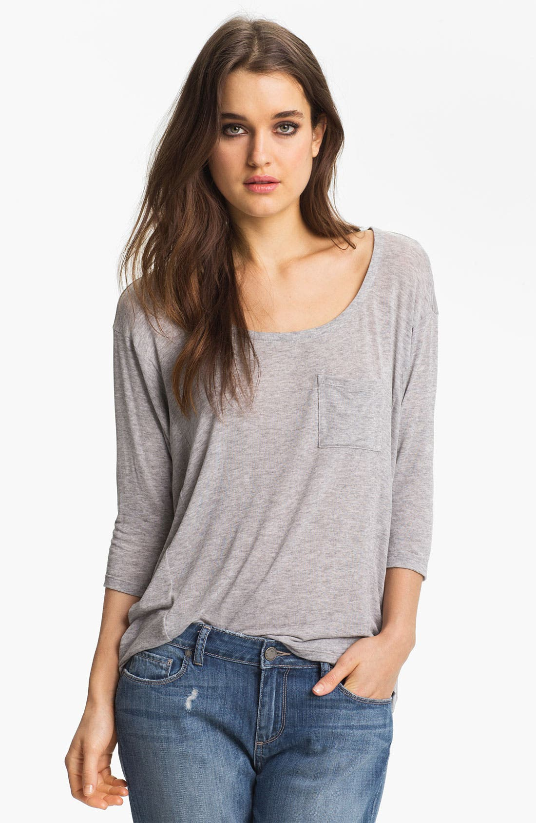 Alternate Image 1 Selected - Splendid Pocket Dolman Top