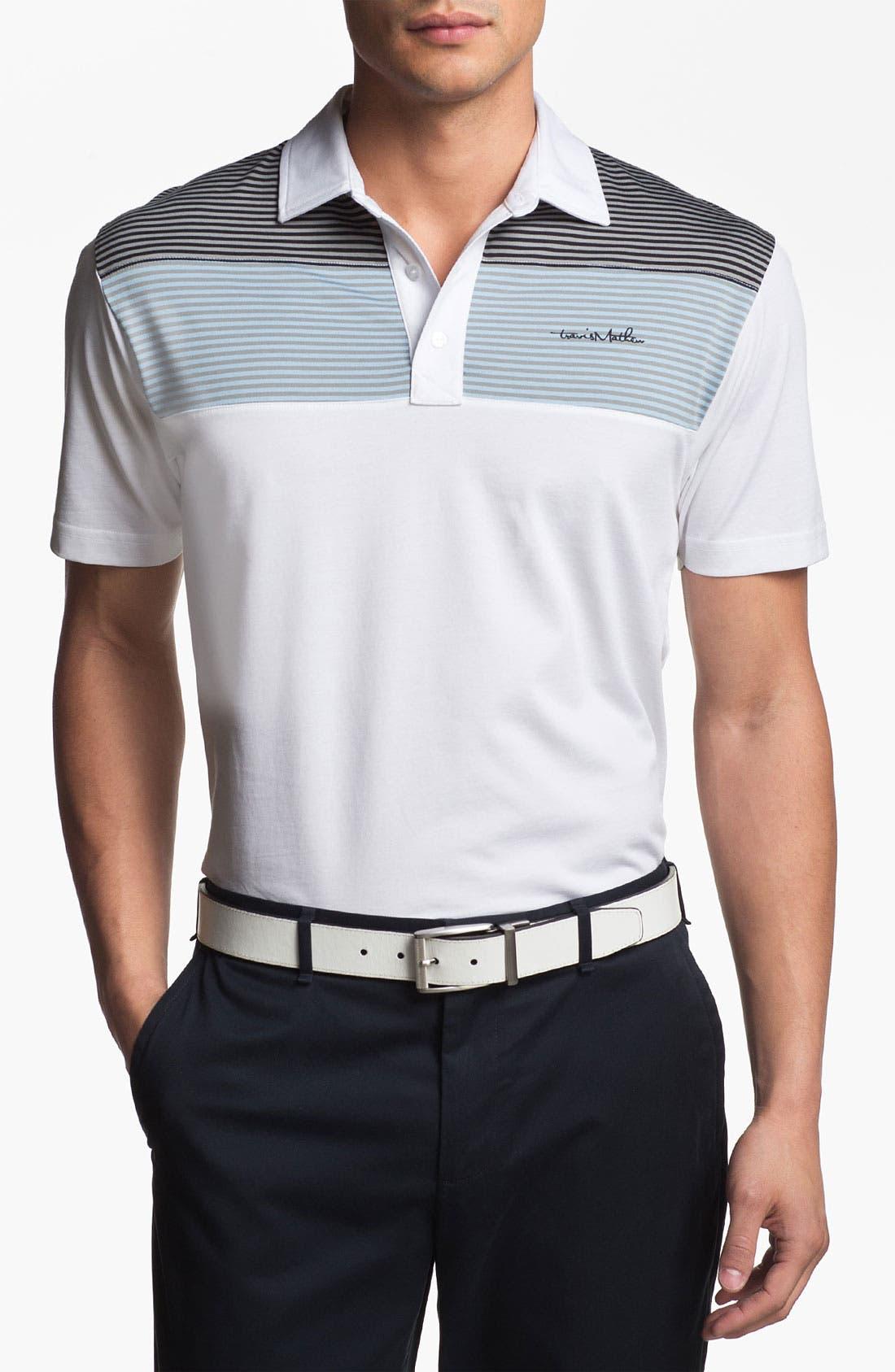 Alternate Image 1 Selected - Travis Mathew 'Mommasulo' Regular Fit Golf Polo