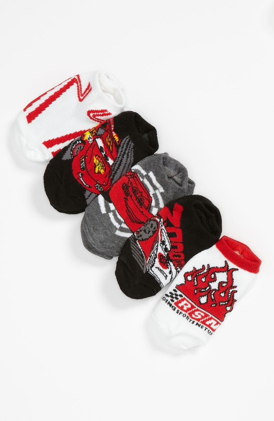 Alternate Image 1 Selected - Disney 'Cars®' Socks (5-Pack) (Walker & Toddler)