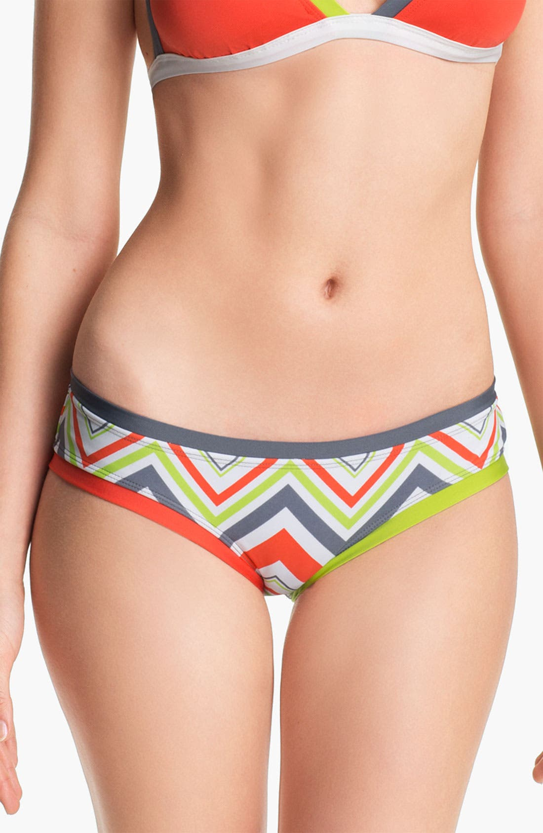 Alternate Image 2  - BCA 'Chevron Coastal' Bikini Bottoms