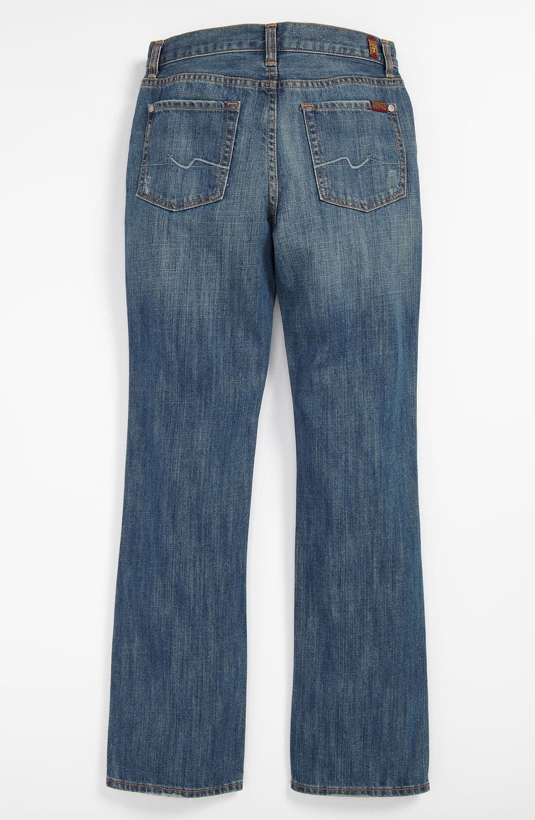 Alternate Image 1 Selected - 7 For All Mankind® 'Nate' Slim Bootcut Jeans (Little Boys)