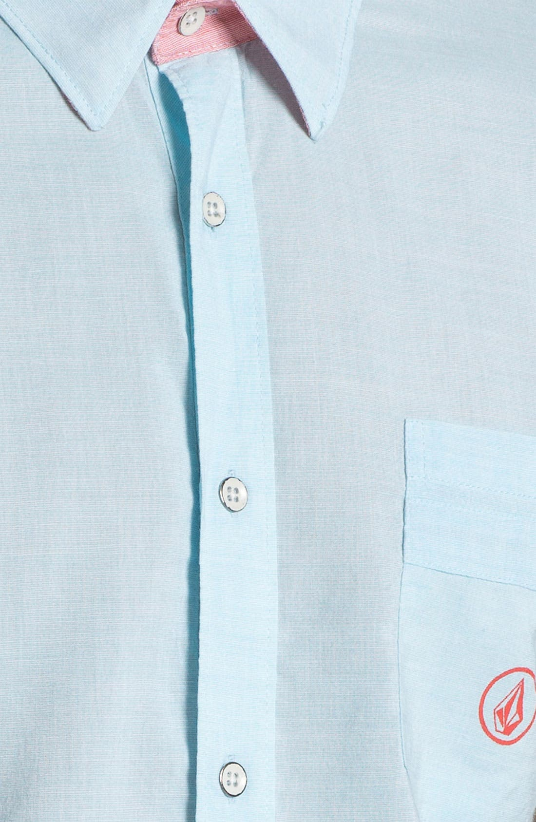 Alternate Image 3  - Volcom 'Bank Lock' Short Sleeve Woven Shirt