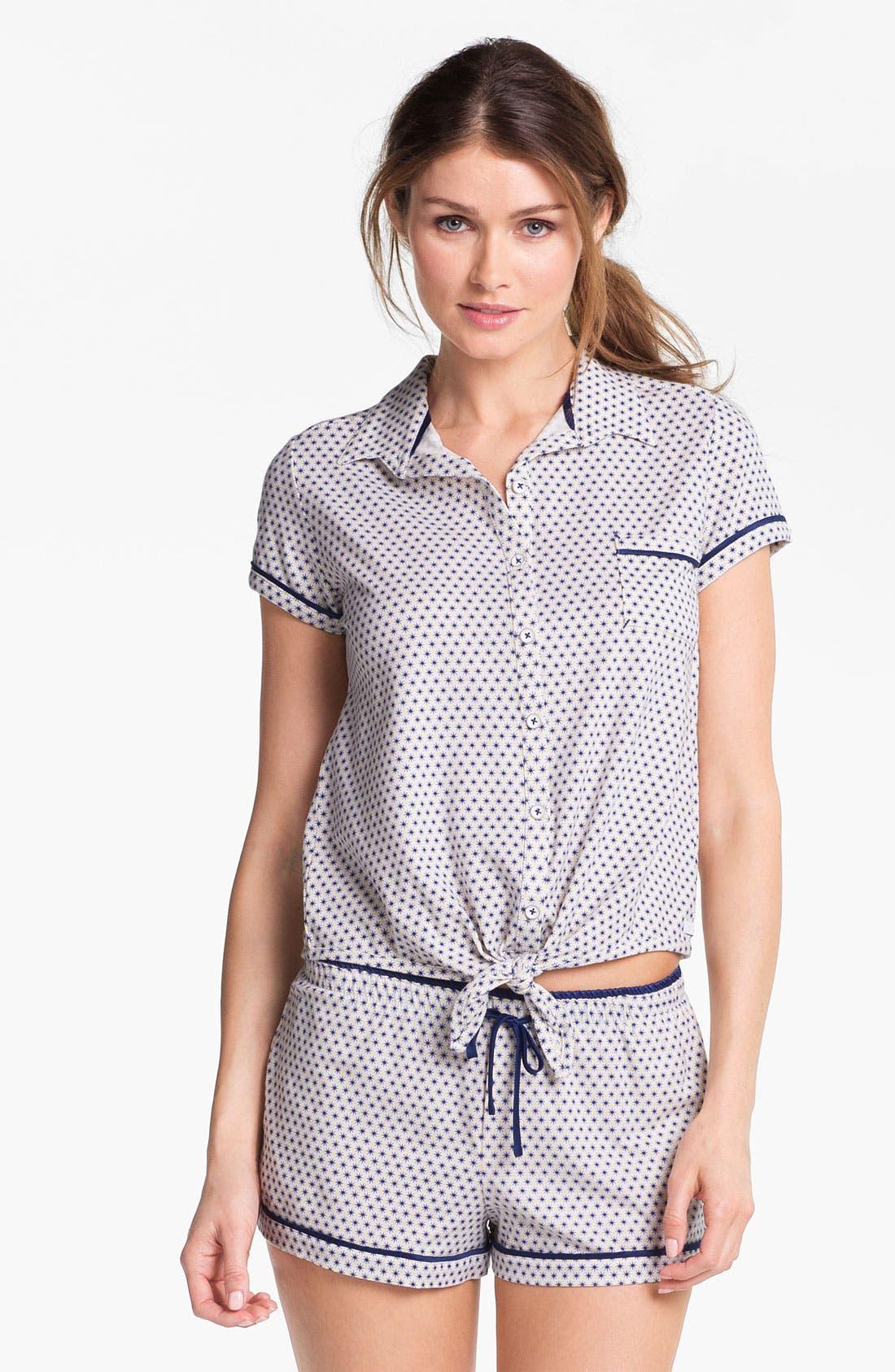 Alternate Image 1 Selected - Kensie 'Surf Lodge' Pajama Top