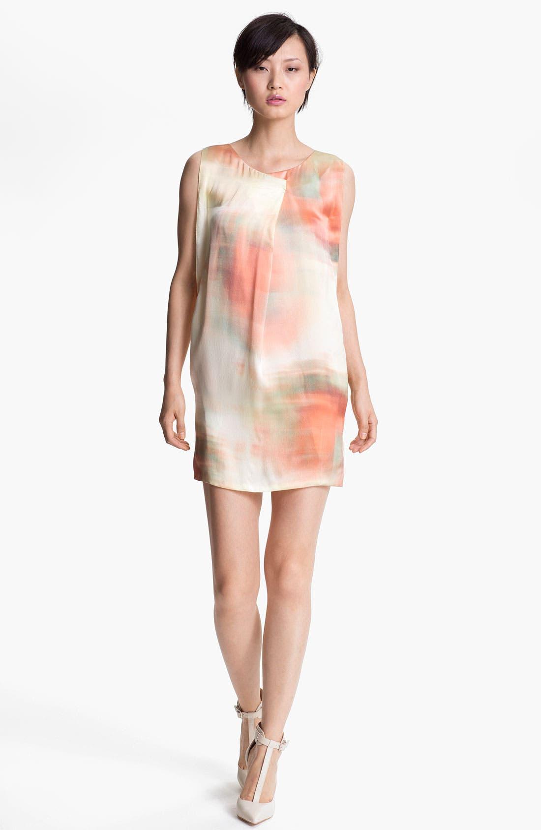 Main Image - Elizabeth and James 'Leah' Color Charmeuse Dress