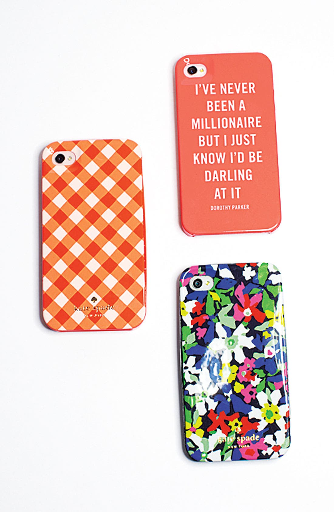 Alternate Image 3  - kate spade new york 'millionaire quote' iPhone 5 & 5S case