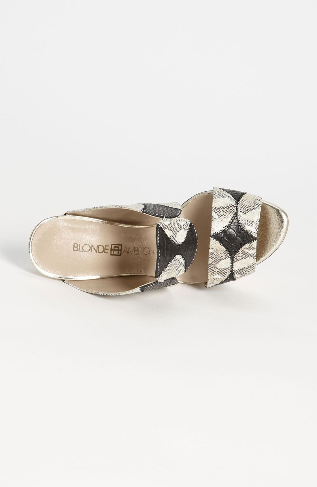 Alternate Image 3  - Blonde Ambition 'Ralley' Sandal