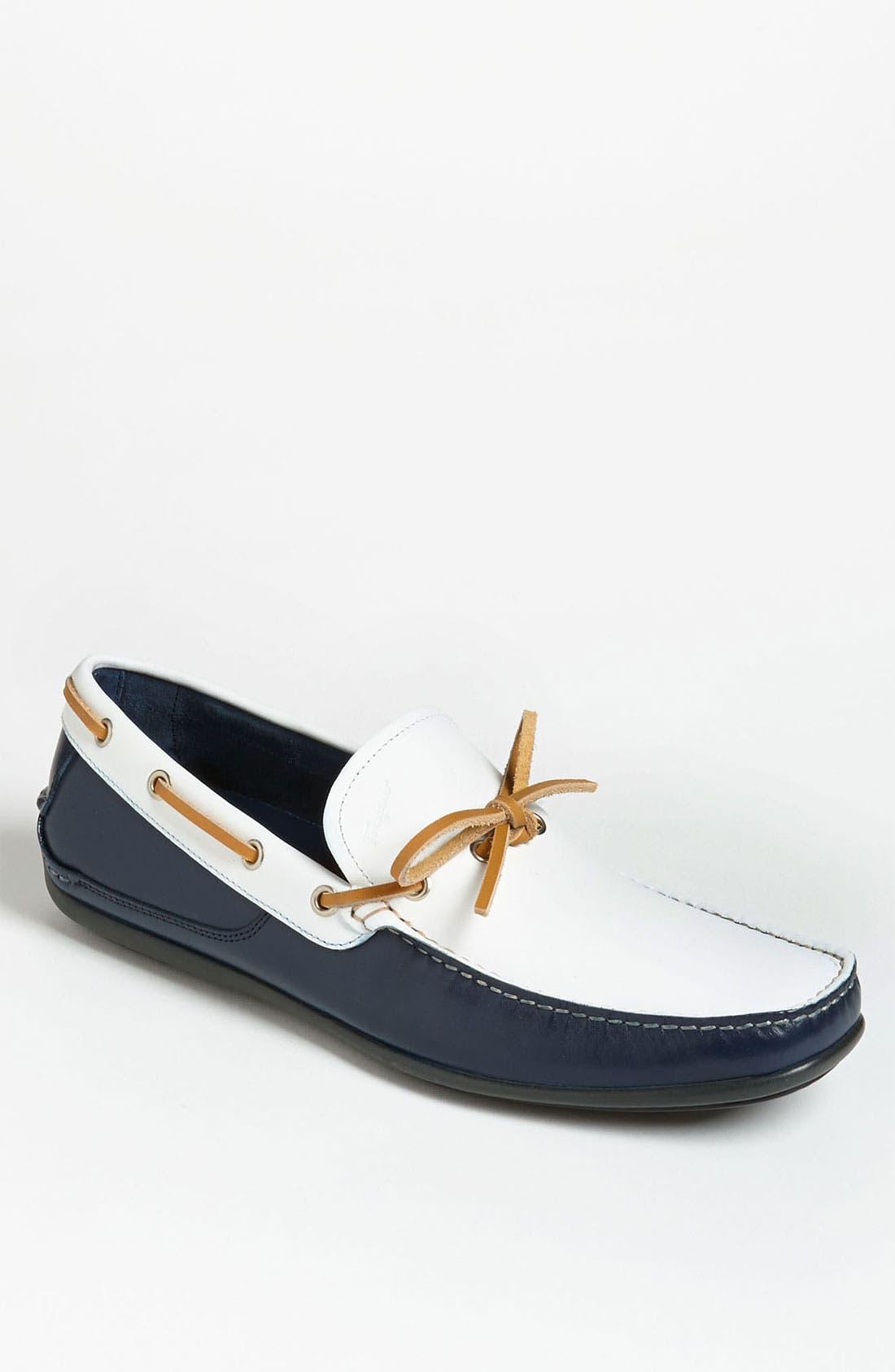 Alternate Image 1 Selected - Salvatore Ferragamo 'Mango' Driving Shoe