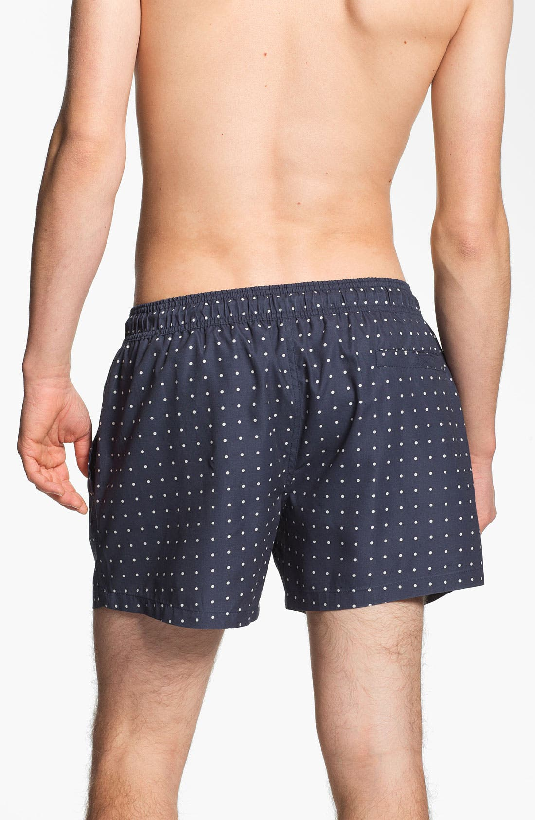 Alternate Image 2  - Topman Polka Dot Swim Trunks