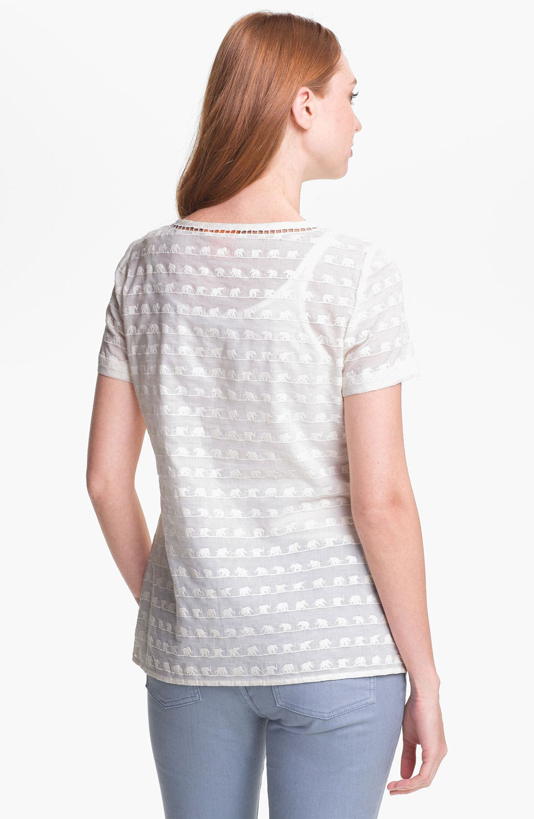 Alternate Image 2  - Tory Burch 'Maxon' Cotton Top