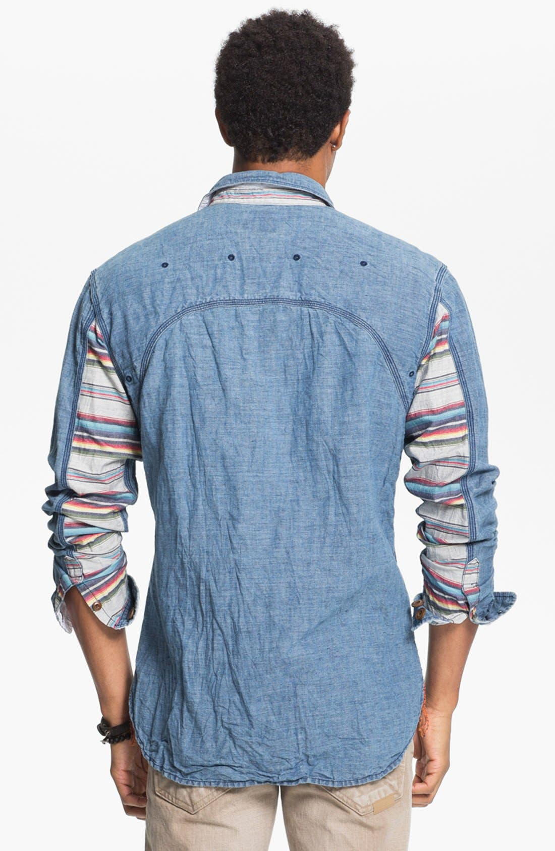 Alternate Image 2  - PRPS Chambray Shirt