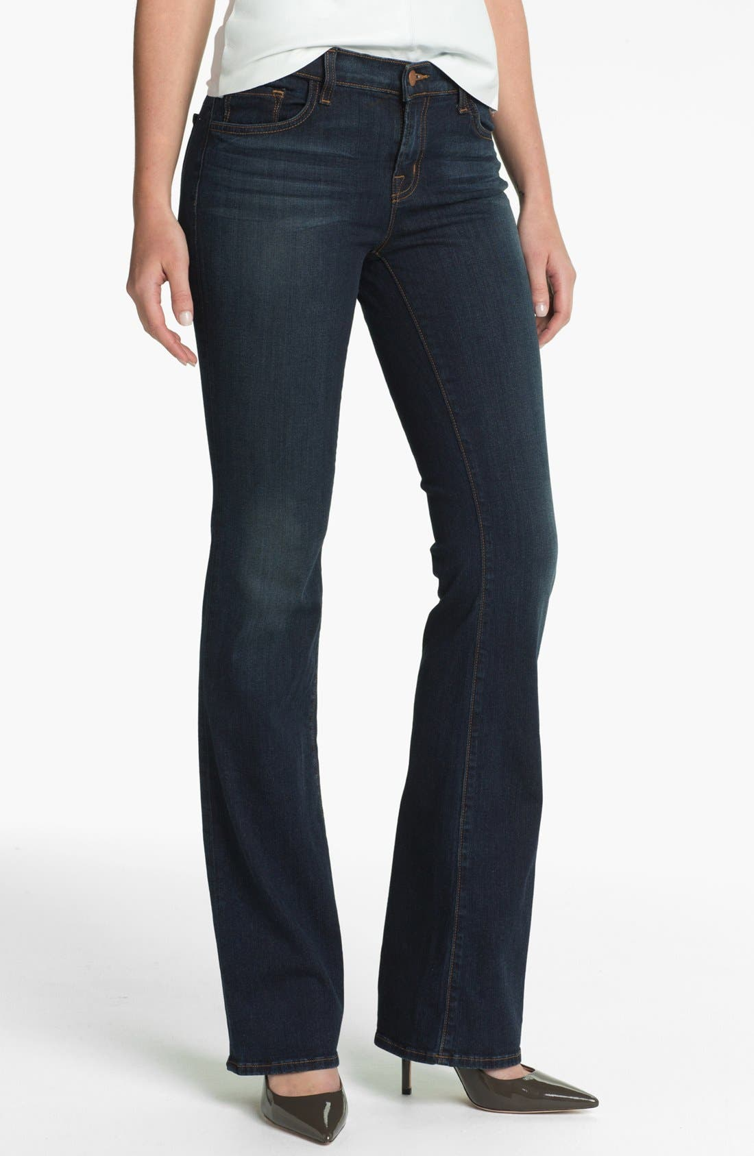Main Image - J Brand Slim Bootcut Jeans (Veruca)