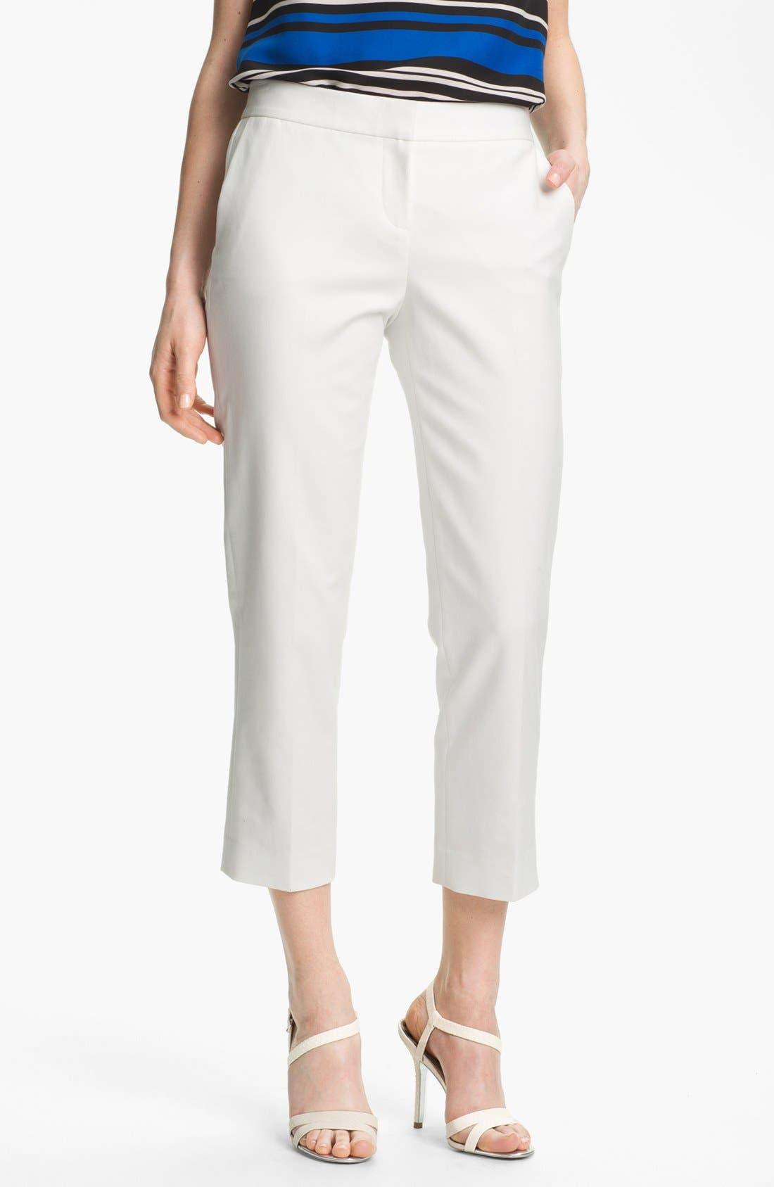 Alternate Image 1 Selected - Vince Camuto Skinny Crop Pants