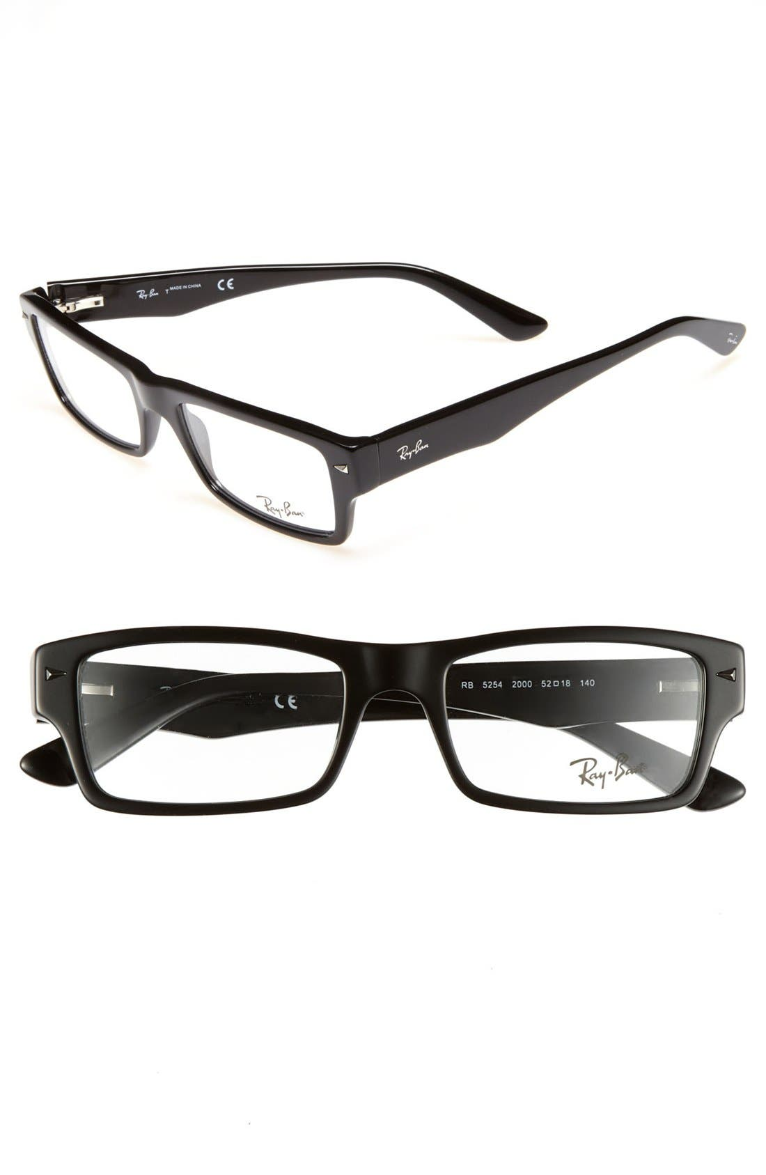 Main Image - Ray-Ban 52mm Optical Glasses (Online Only)