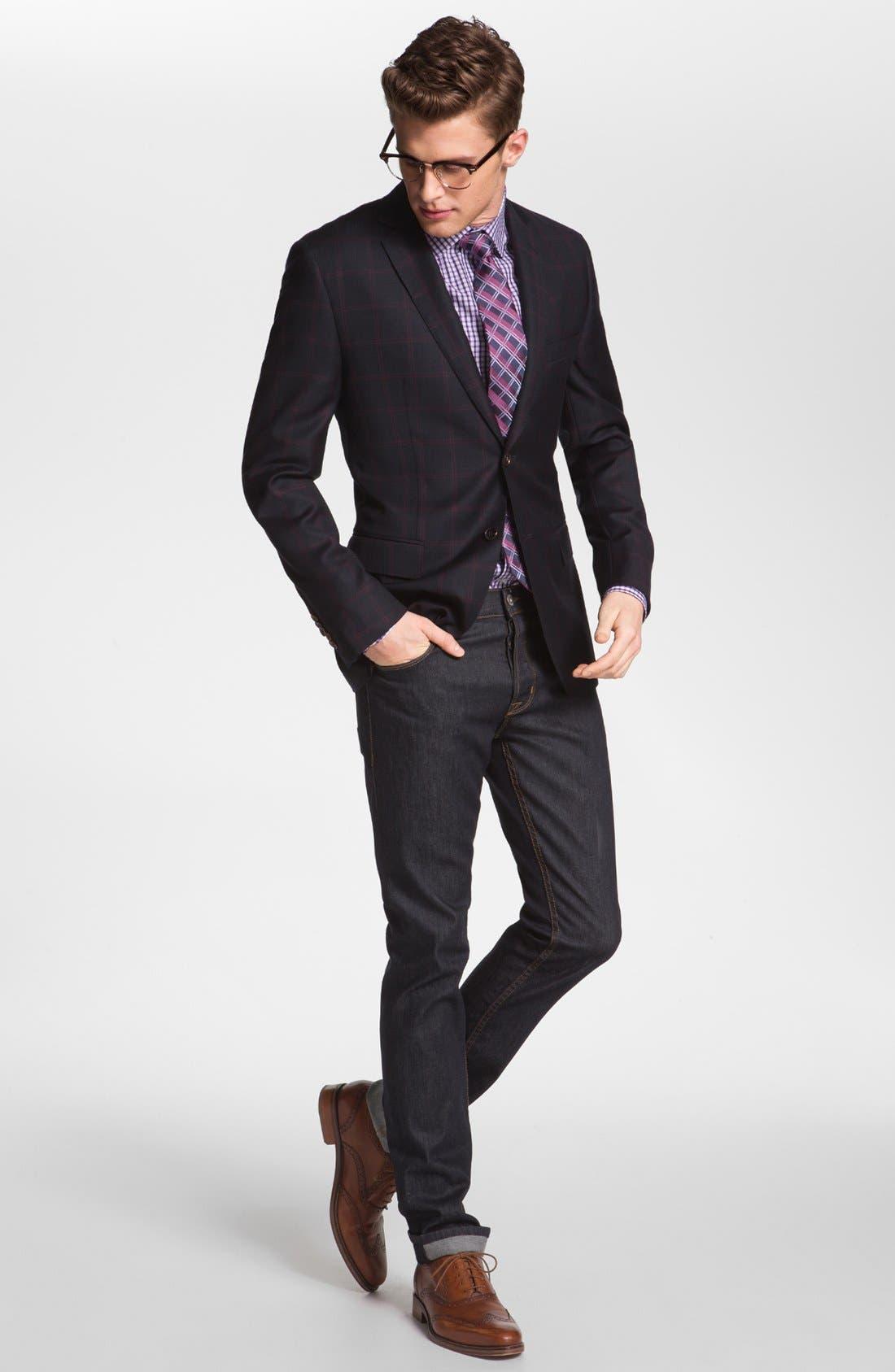 Alternate Image 3  - Michael Kors Regular Fit Non-Iron Dress Shirt
