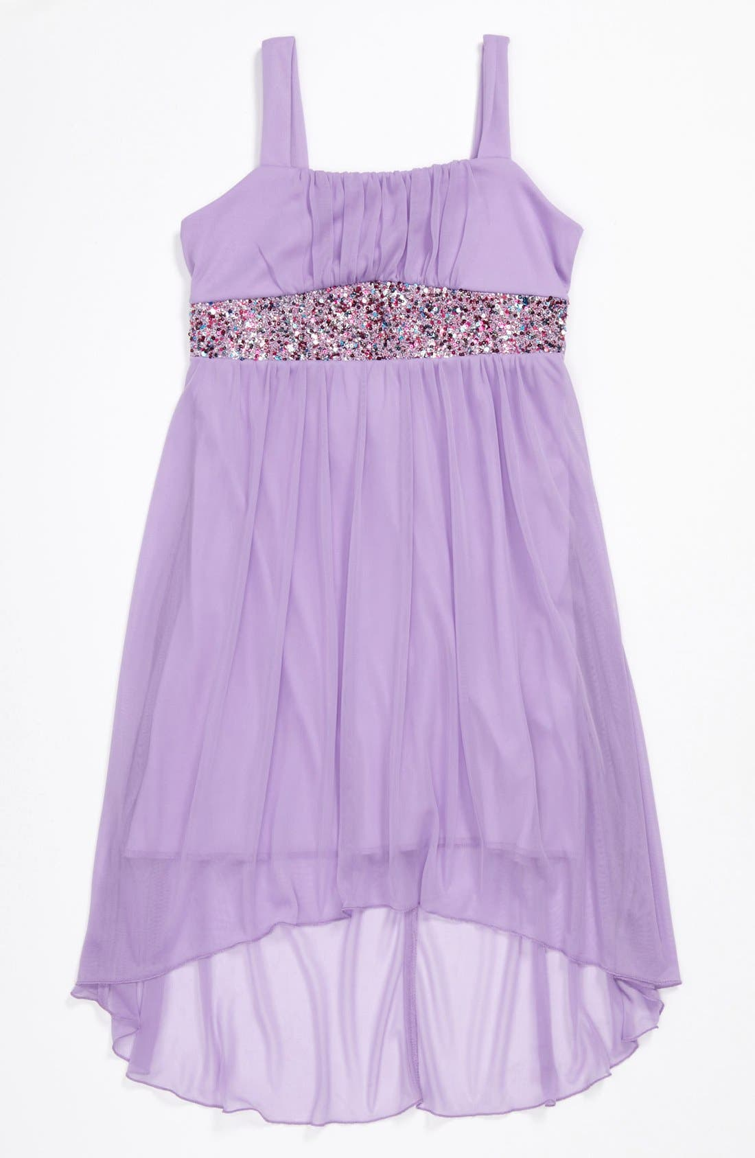 Main Image - Roxette Sleeveless Dress (Big Girls)
