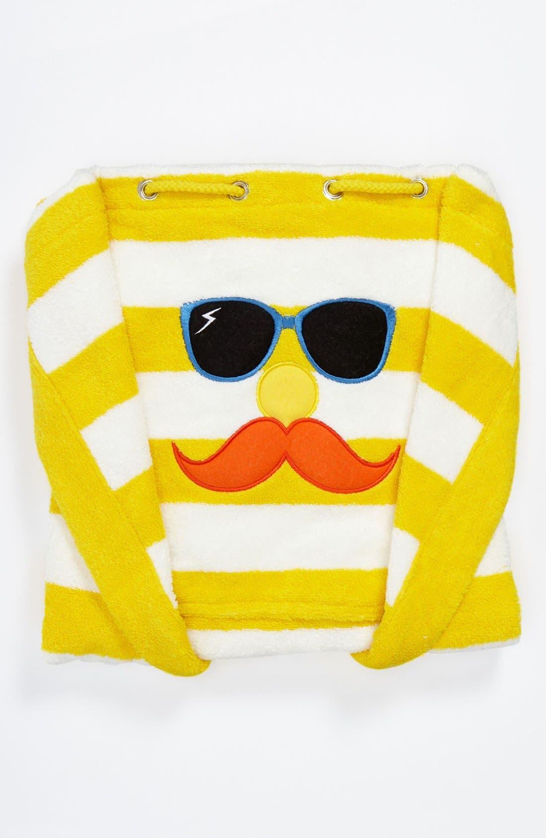 Main Image - Stella McCartney Stripe Towel & Bag (Kids)