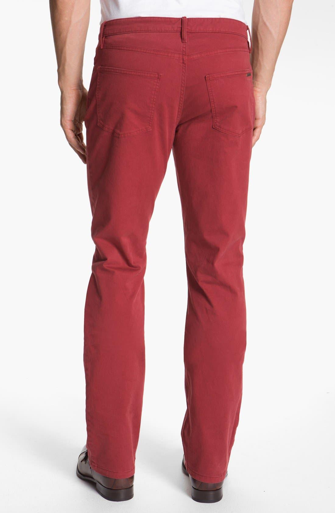 Alternate Image 2  - Burberry Brit 'Southwell' Straight Leg Twill Pants