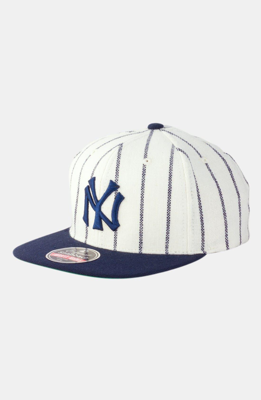 Alternate Image 1 Selected - American Needle 'New York Yankees 1921 - 400 Series' Snapback Baseball Cap