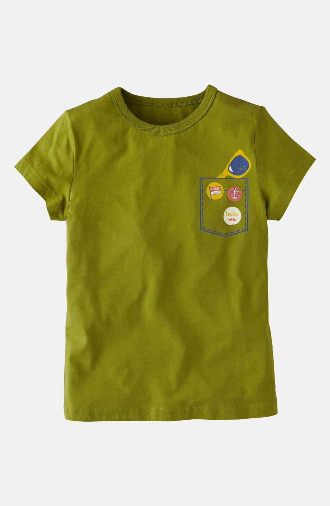 Main Image - Mini Boden Logo T-Shirt (Little Boys & Big Boys)