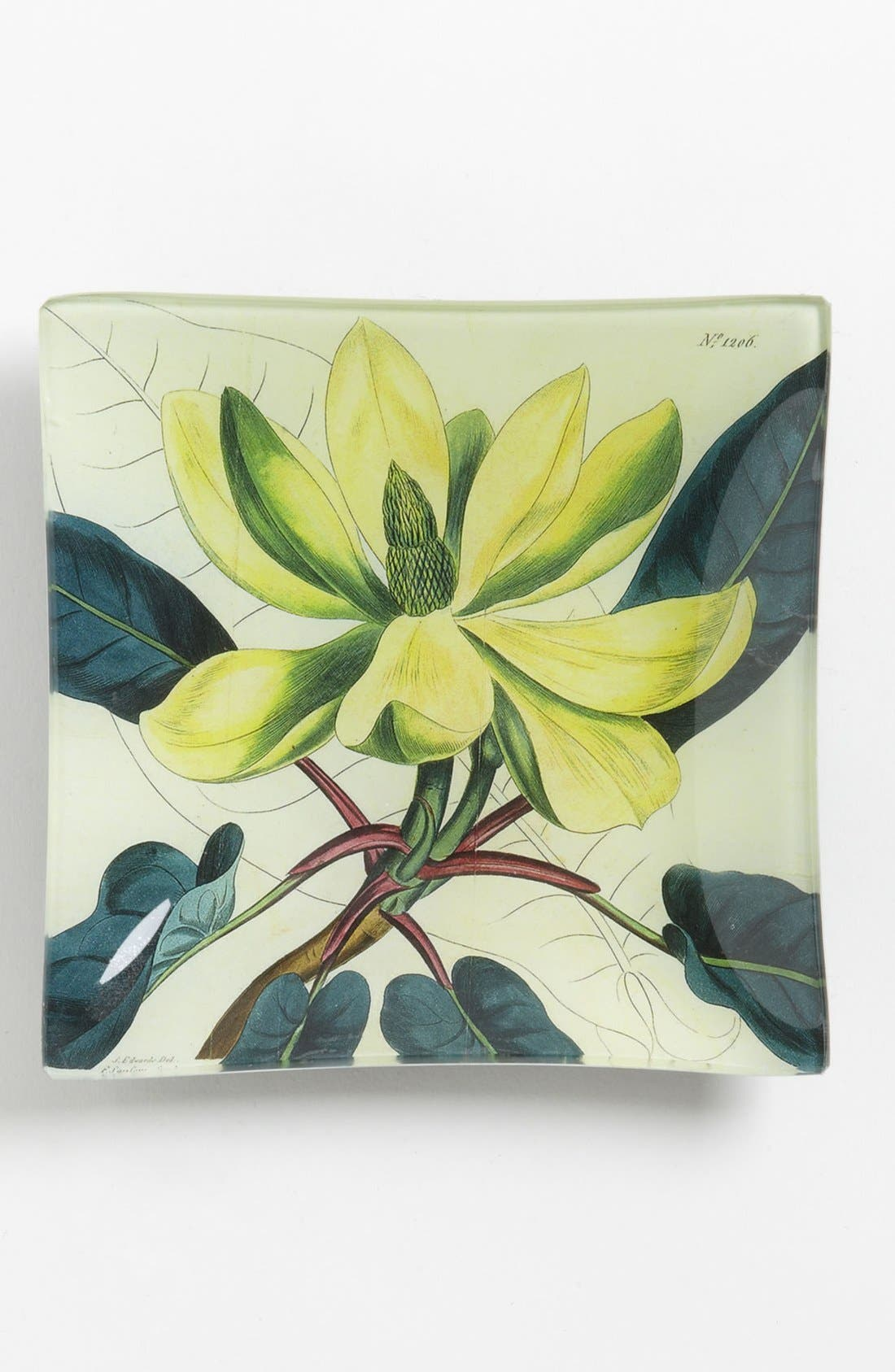 Alternate Image 1 Selected - Ben's Garden 'Yellow Magnolia' Trinket Tray