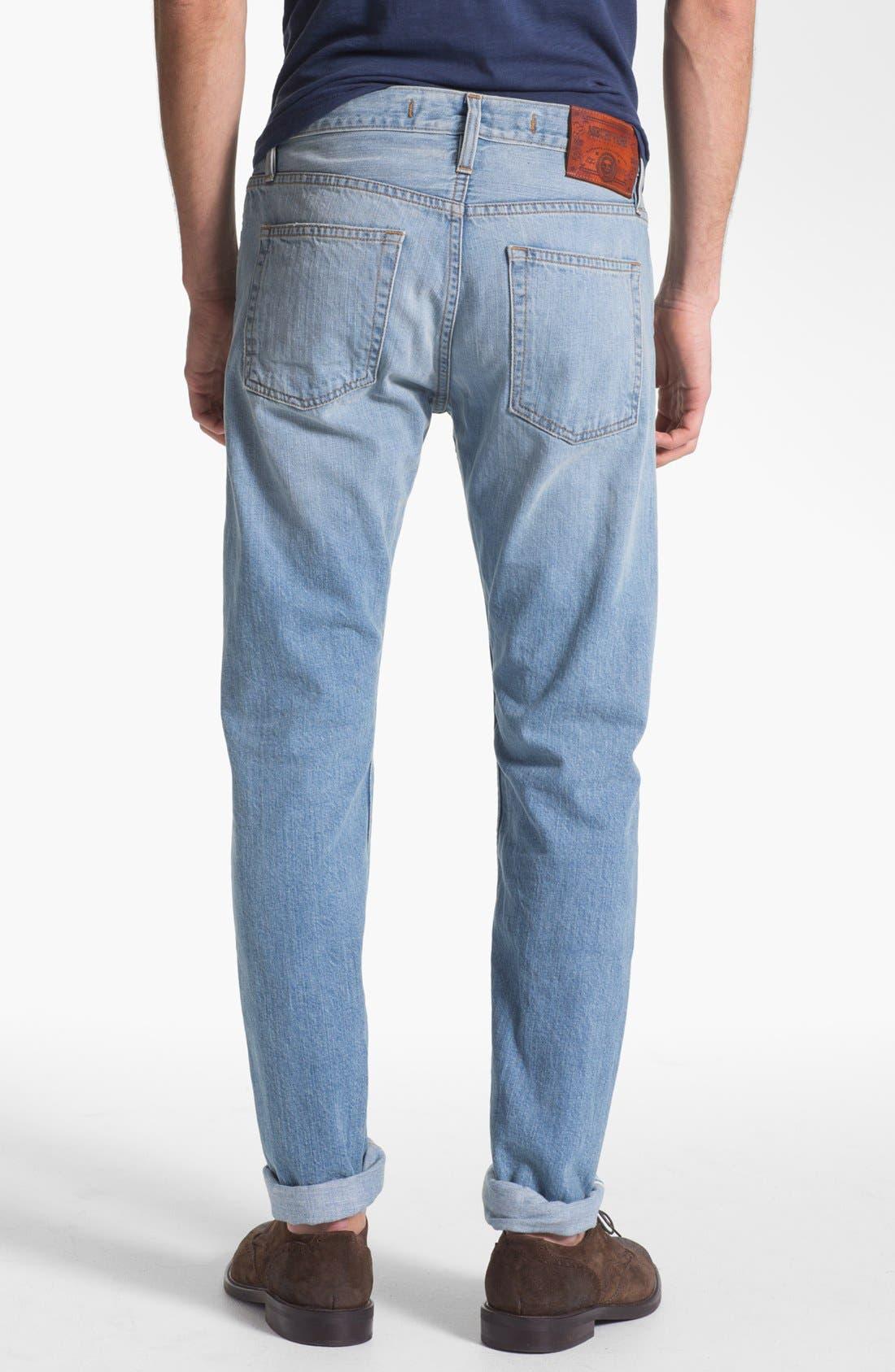 Alternate Image 2  - Asbury Park '1874 Monte Carlo' Straight Leg Selvedge Jeans (Paramount)