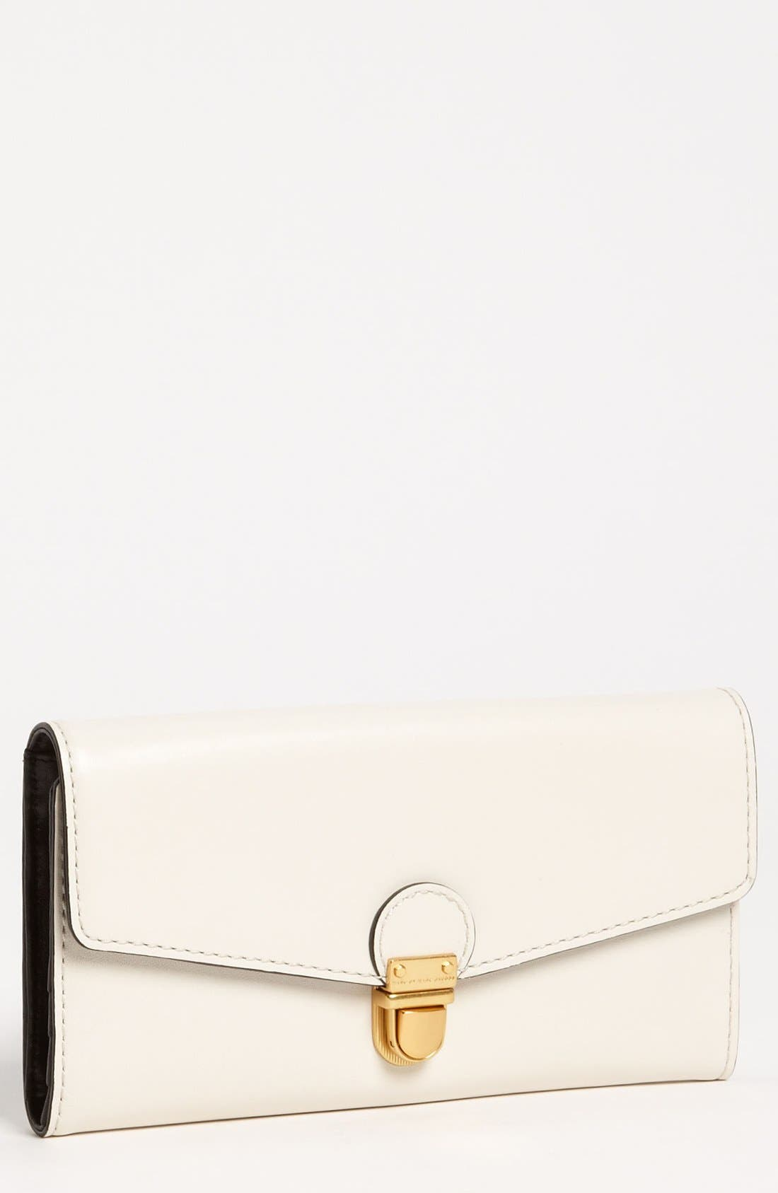 Main Image - MARC BY MARC JACOBS 'Top Chicret' Colorblocked Wallet