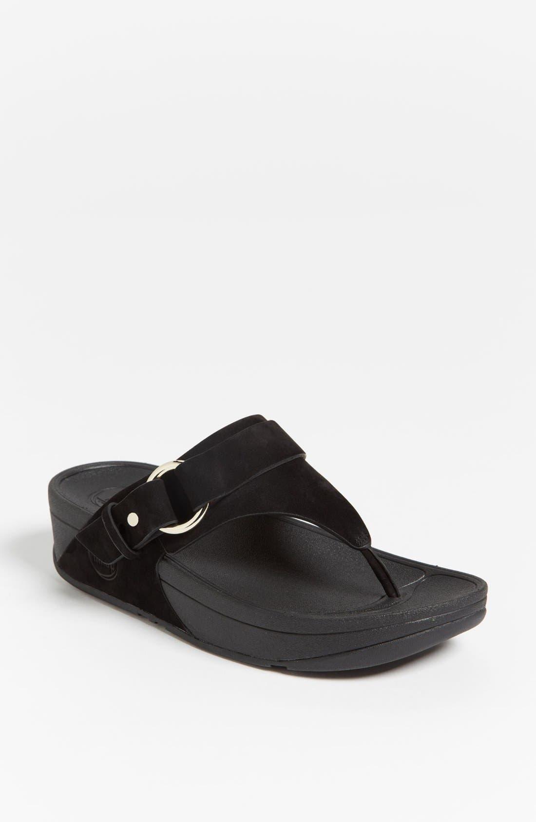 Main Image - FitFlop 'Via™' Nubuck Sandal