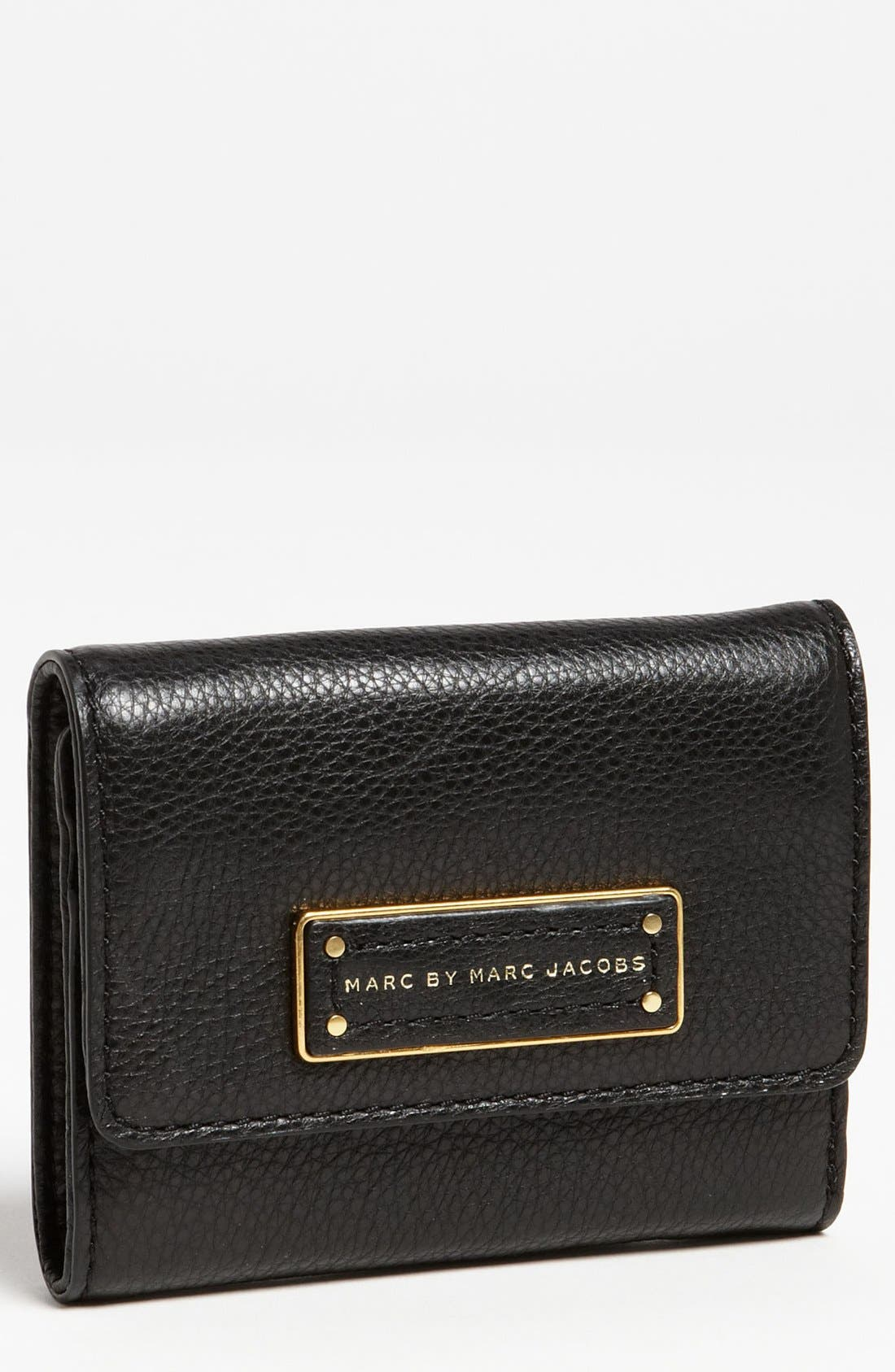 MARC BY MARC JACOBS 'Too Hot to Handle' Billfold Wallet,                         Main,                         color, Black