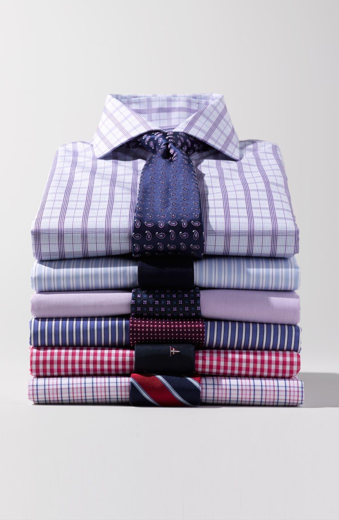 Alternate Image 5  - BOSS Black Woven Silk Tie