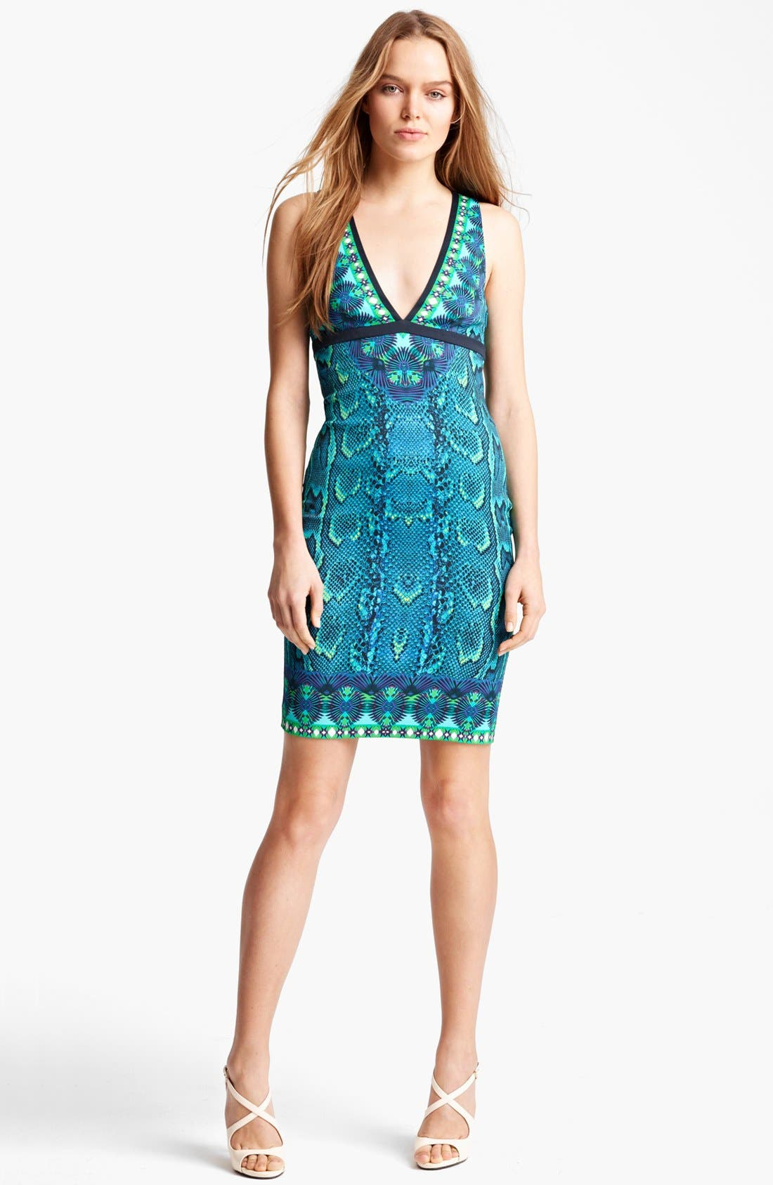 Main Image - Roberto Cavalli 'Ashley Print' Dress