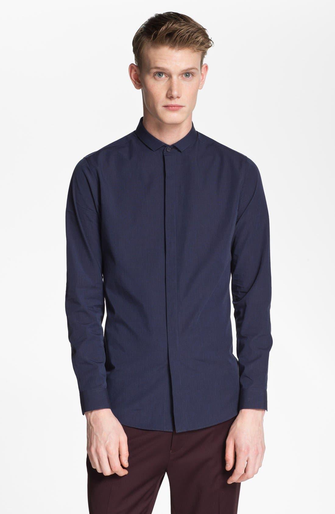 Alternate Image 1 Selected - Topman Cotton Shirt