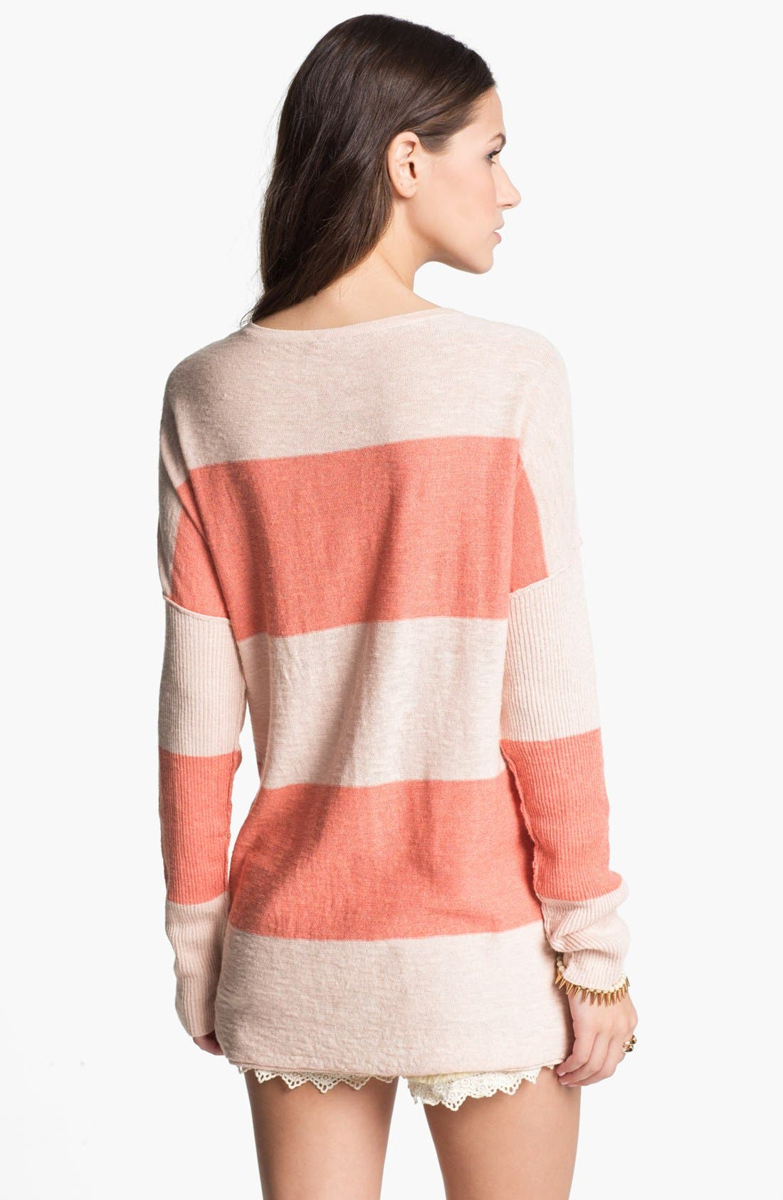 Alternate Image 2  - Free People 'Gold Rush' Henley Sweater