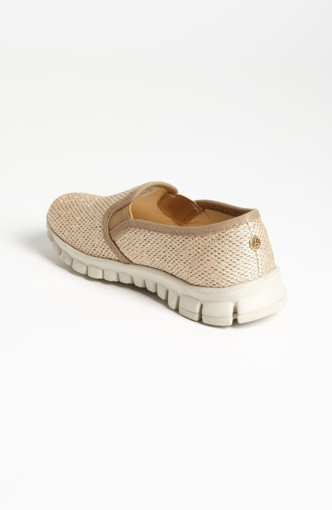Alternate Image 2  - NoSox 'Pax' Mesh Glitter Slip-On (Little Kid & Big Kid)