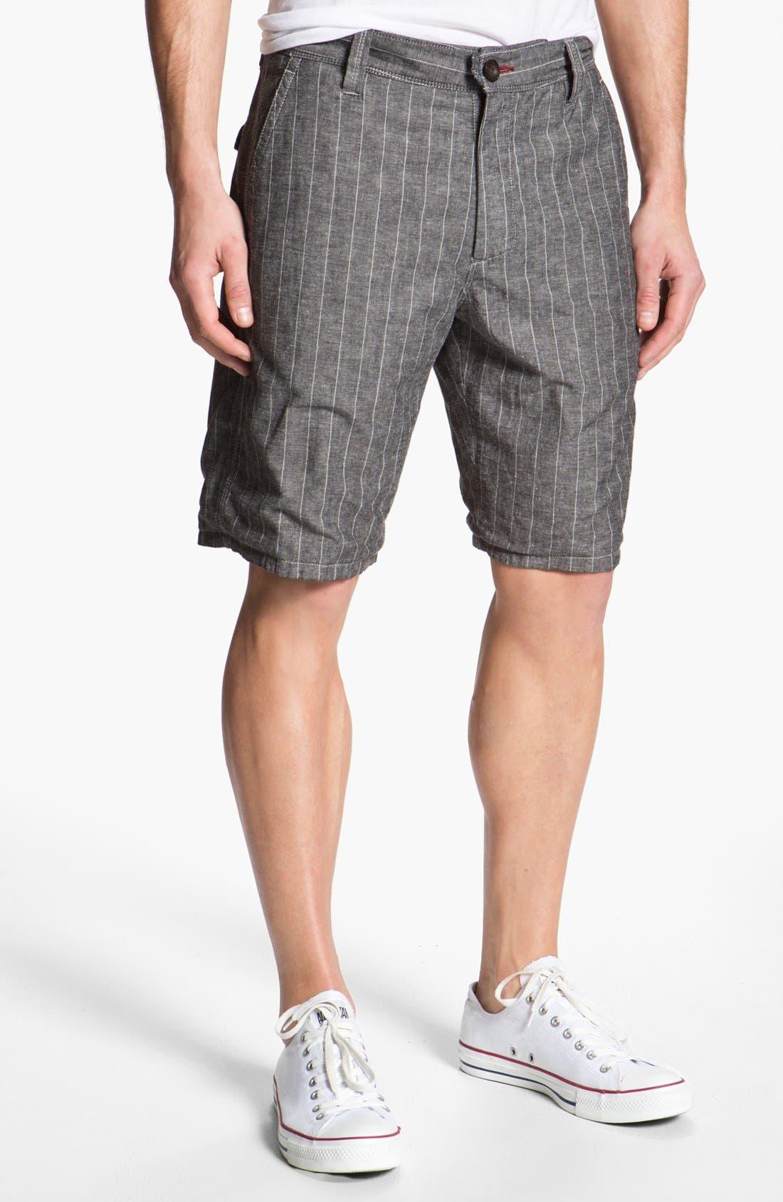 Alternate Image 2  - Howe Reversible Chambray Shorts