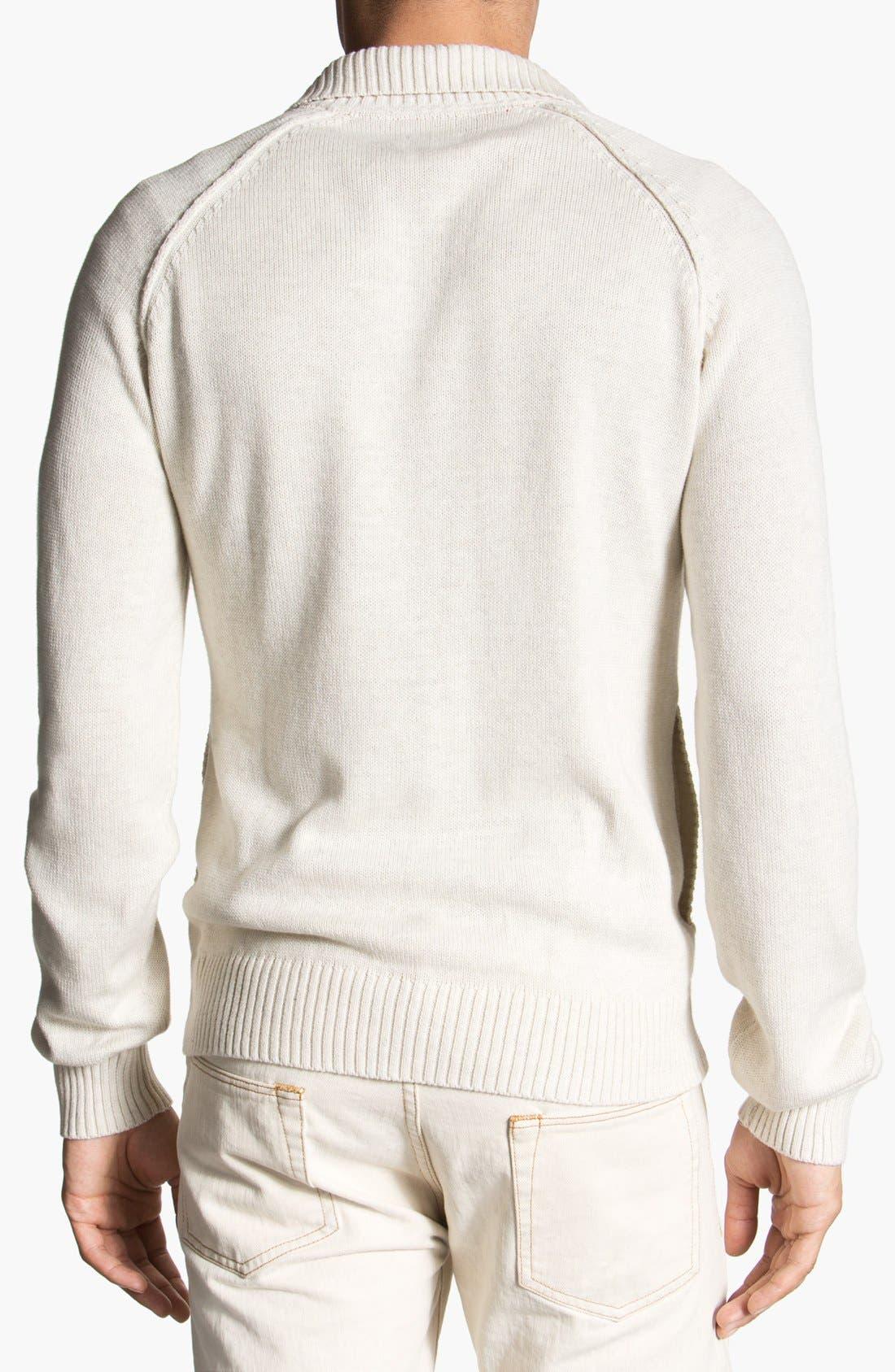 Alternate Image 2  - 1901 'Pacific' Mock Neck Sweater