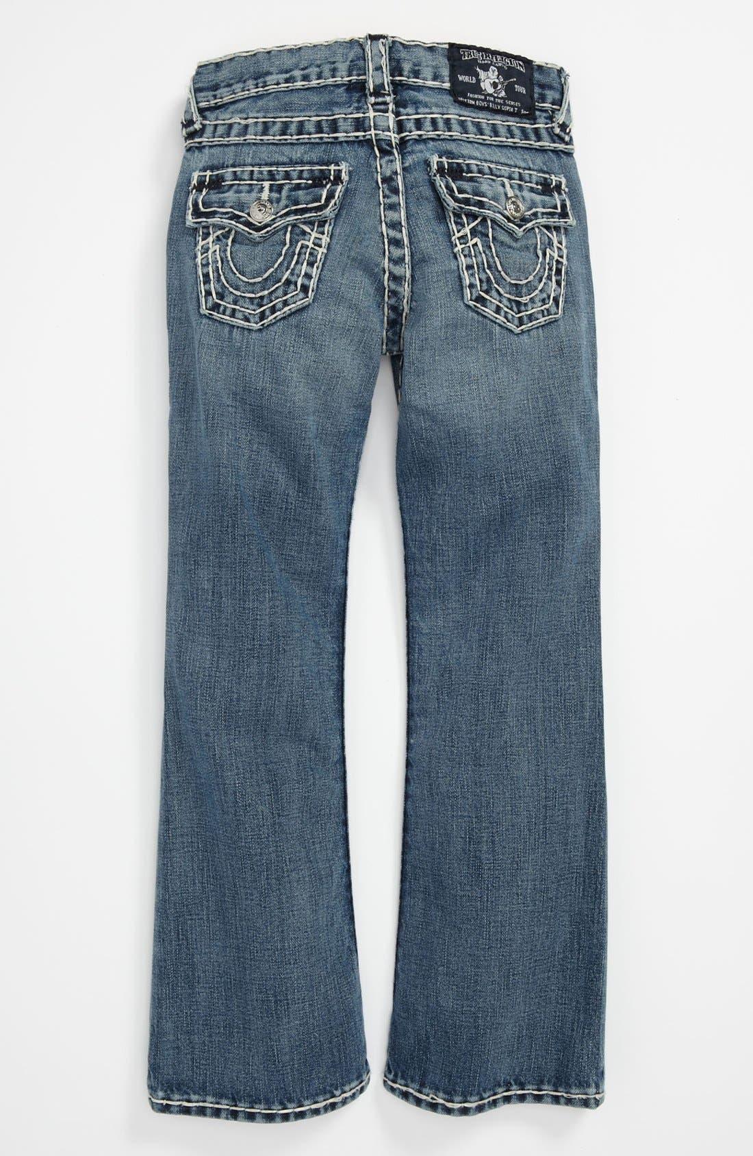 Alternate Image 1 Selected - True Religion Brand Jeans 'Jack' Bootcut Jeans (Big Boys)