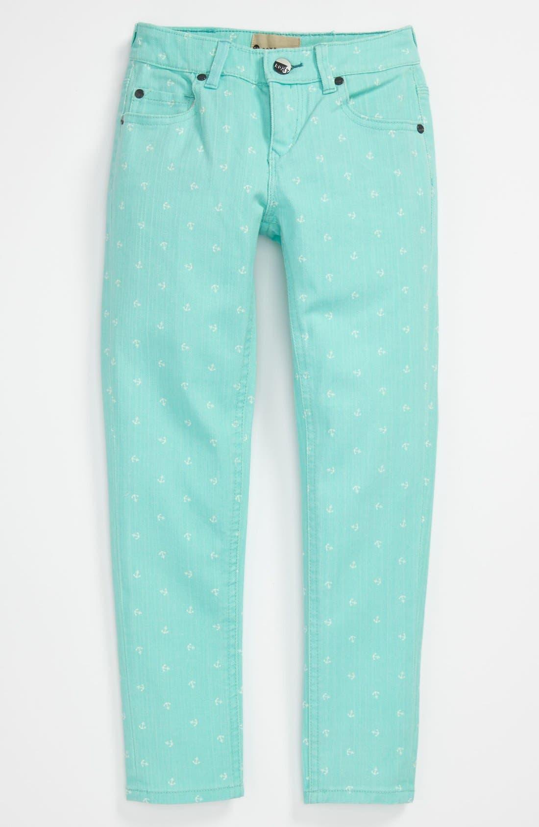 Alternate Image 2  - 'Skinny Rails' Skinny Leg Jeans (Big Girls)