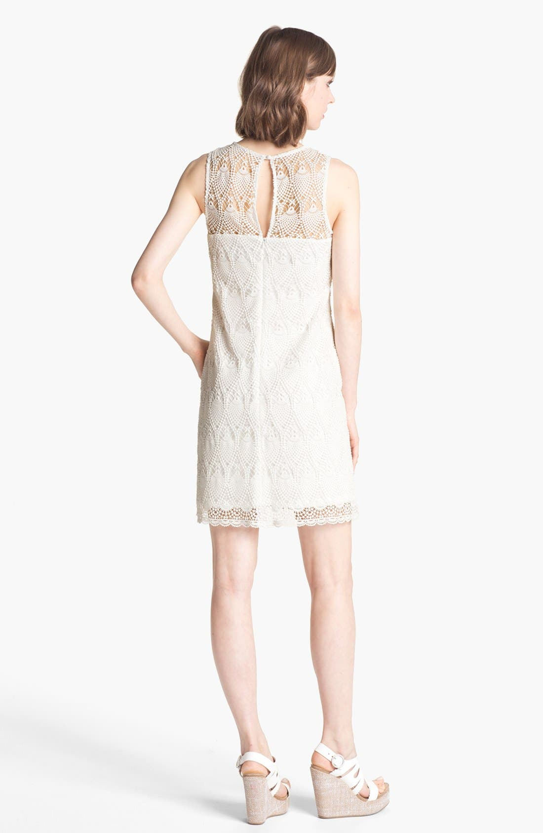 Alternate Image 2  - Trina Turk 'Bisti' Lace Shift Dress