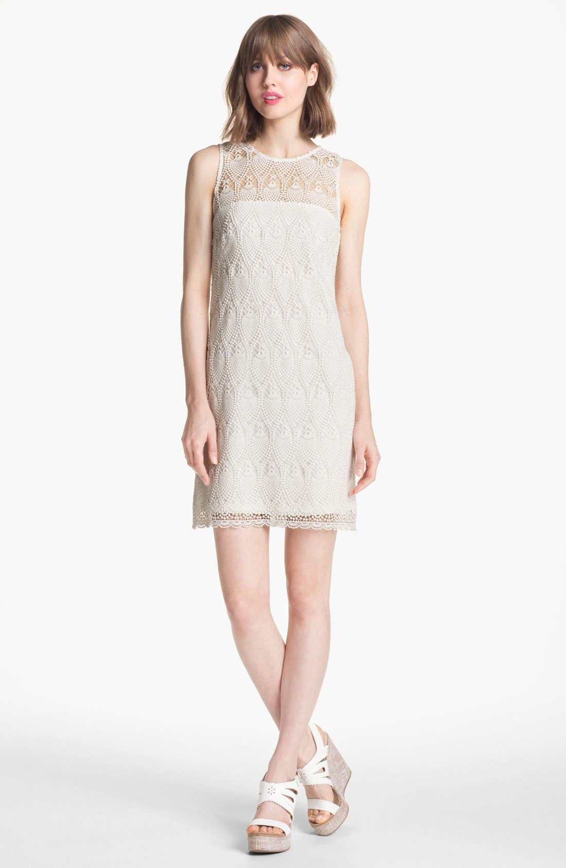 Alternate Image 1 Selected - Trina Turk 'Bisti' Lace Shift Dress