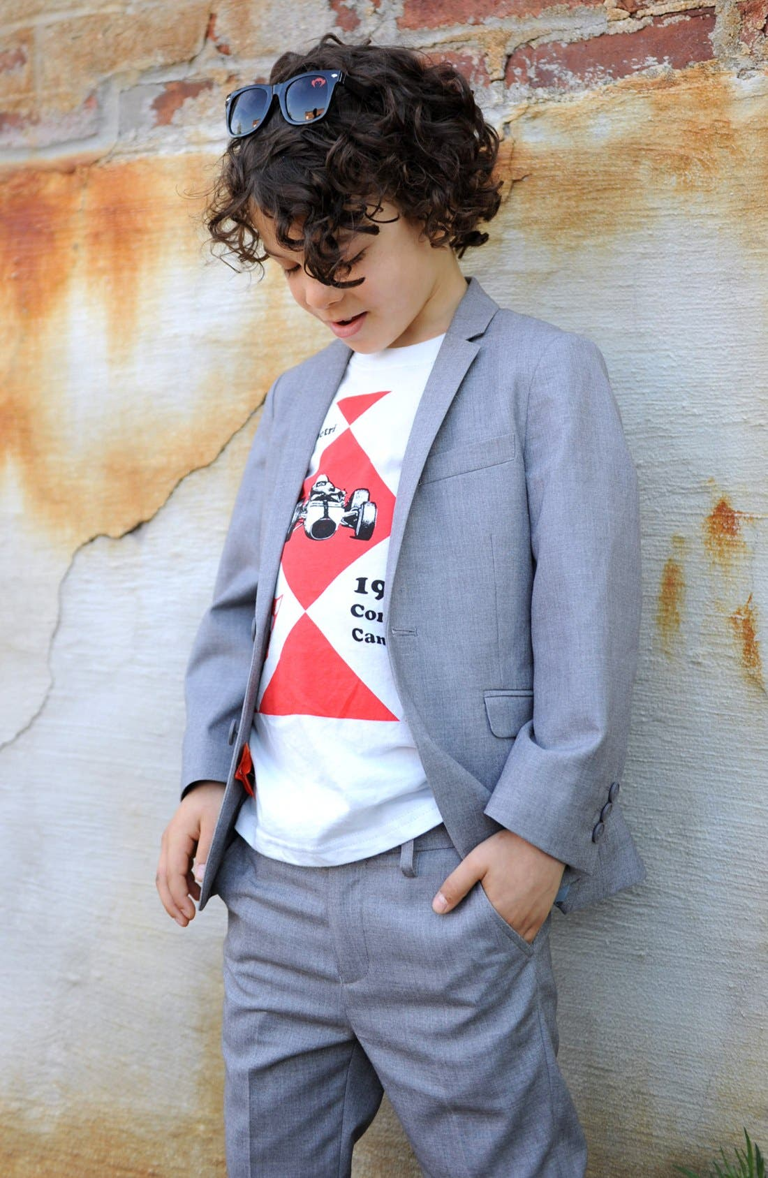 Alternate Image 3  - Appaman Suit Jacket (Toddler)