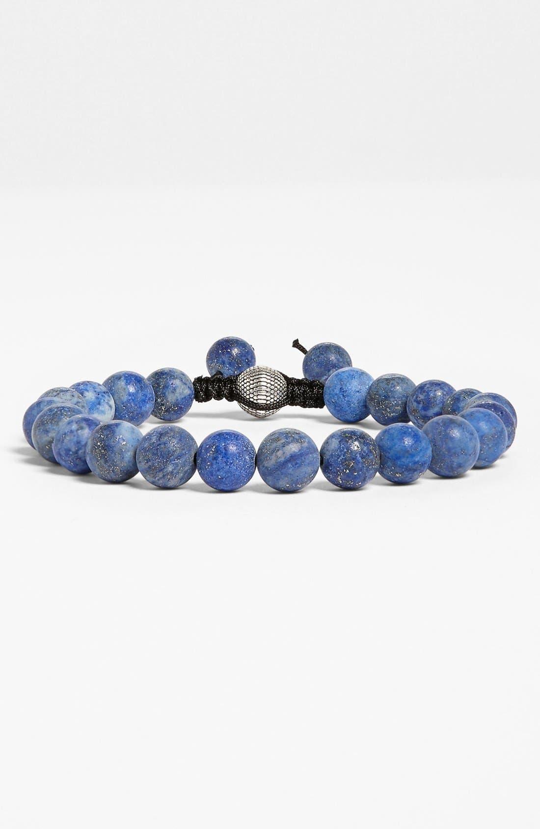 Alternate Image 1 Selected - Zack Lapis Beaded Bracelet